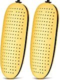 Zapato Bota Secadora, Zapato secadora eléctrica Bota de esquí más cálido, Calzado Calcetines guante desodorante calentador del pie portátil, con el temporizador Desodorante secado evitar malos olores