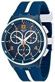 Swatch SUSN403 - Orologio da polso, cinturino in caucciù colore blu
