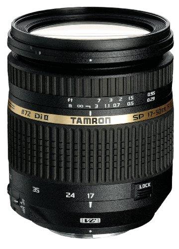 Tamron AF 17-50 mm F/2.8 XR Di II VC, LD, ASL (IF) - Objetivo para Nikon (Distancia Focal 17-50mm, Apertura f/2.8, estabilizador óptico, Macro, diámetro: 72mm) Negro