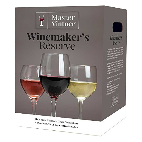 Master Vintner Winemaker's Reserve Merlot Wine Recipe Kit Makes 6 Gallons