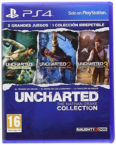 UNCHARTED THE NATHAN DRAKE COLLECTION PlayStation 4 by Naughtydog