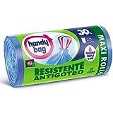 Handy Bag Bolsas de Basura 30L, Extra Resistentes, No Gotean, 25 Bolsas