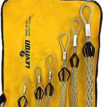 Leviton L8510 Flexible Eye, Closed Mesh, Single Weave, Junior Duty, Pulling Wire Mesh Grip Cable Diameter, Range, Standard Length