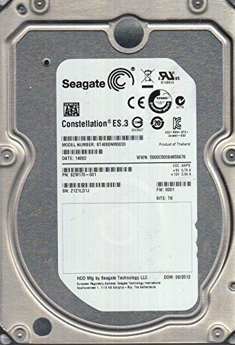 ST4000NM0033, Z1Z, TK, PN 9ZM170-001, FW 0001, Seagate 4TB SATA 3.5 Festplatte