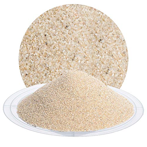 25 kg hygienischer Filtersand beige, Quarzsand - natürliches Filtermedium für Sandfilteranlagen zur Reinigung von Pool, Teich, Schwimmbad, Wasseraufbereitung von Schicker Mineral (Filtersand/Filterkies beige, 0,4-0,8 mm)