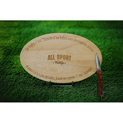 ALL SPORT VINTAGE - Planche Apéro Rugby des Copains -...