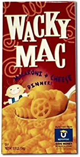 Foulds, Mac & Cheese Wacky Dinner, 5.5 OZ (Pack of 24)