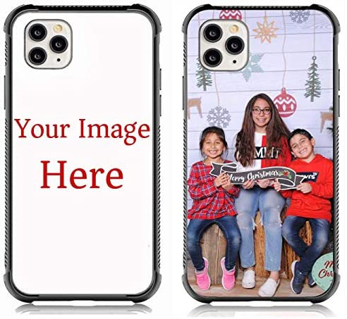 Custom Case for iPhone 11 Pro max Personalized Custom Picture Phone Case Customized Slim Soft and Hard tire Shockproof Protective Anti-Scratch Phone Cover Case Make Your Own case
