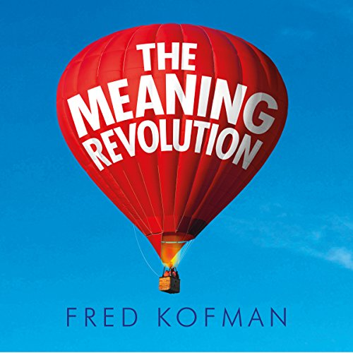 The Meaning Revolution audiobook cover art