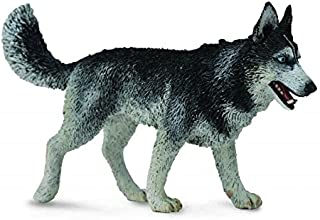 Collect A Dogs & Cats Siberian Husky Toy Figure