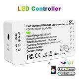 Home Smart Zigbee Dimmer CCT Controller per striscia led, di colore bianco, con supporto APP e controllo vocale, ABS, Controller Rgb+cct