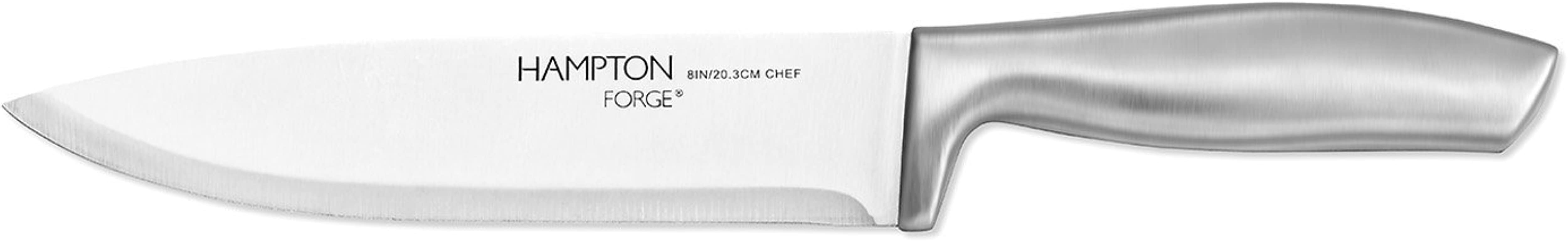 Hampton Forge HMC01A455G Kobe Chef Knife Silver