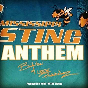 Mississippi Sting Anthem