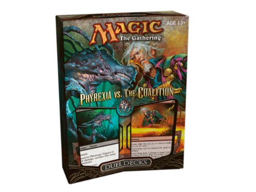Magic the Gathering: Phyrexia vs. The Coalition Duel Decks (2 Limited Edition Theme Decks)