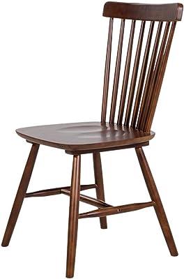 Simple Modern Solid Wood Dining Chair, Casual Dessert Backrest Chair, Hotel Restaurant Tea Shop Chair,D