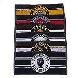 Warrior Northern Soul Bar asciugamani – Set di 6 – Club Edition, 50 cm x 20 cm circa, multicolore