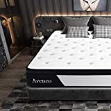 Twin Mattress, Avenco Hybrid Mattress Twin, 10 Inch Innerspring and Gel Memory Foam Mattress in a Box, with CertiPUR-US Foam for Supportive, Pressure Relief & Cooler Sleeping, 10 Years Support