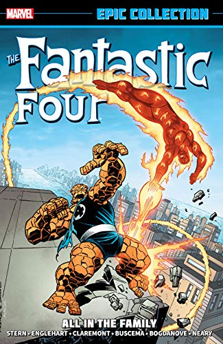 Fantastic Four Epic Collection: All In The Family (Fantastic Four (1961-1996) Book 17) (English Edition)