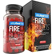 FIRE Bullets with K-CYTRO for Women & Men, Weight Management Supplement, 30 Days Supply