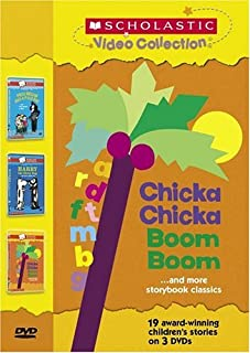 Scholastic Video Collection 3-Pack #2 - Chicka Chicka Boom Boom / Harry the Dirty Dog / Miss Nelson Has a Field Day