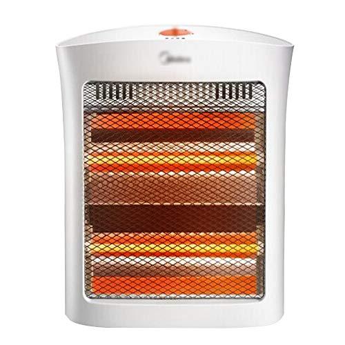 LJHA Chauffage, Thermostat de Bureau réglable d'hiver de Bureau Domestique, 800 W, Blanc