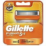 ジレット フュージョン5+1 マニュアル 髭剃り 替刃 単品 替刃4個入
