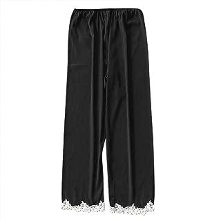 WUAI Womens Soft Home Wear Pajama Sleep Pants Plus Size Sleepwear Pants
