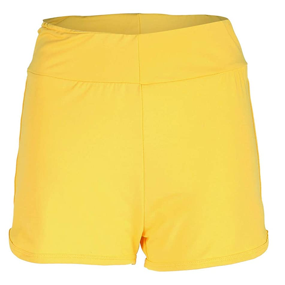 Simayixx Shorts for Women Women's High Waist Microstretch Cotton Denim Shorts Pocket Sexy Soild Summer Pants Trousers