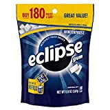 ECLIPSE Winterfrost Sugarfree Gum, 8.8-Ounce 180 piece bag