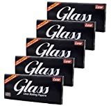 Glasklare Paper King Size 100% Pflanzen Zellulose BIO von Luxe Glass 5 x40 Papers