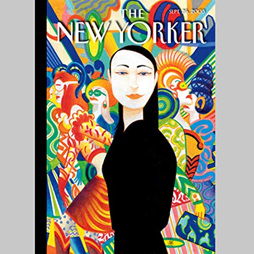 The New Yorker (Sept. 26, 2005) audiobook cover art