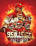 Calendar 2021-2022: Amazing Kansas City Chiefs Calendar for Fans - 2 Years Calendar