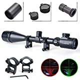 Twod Rifle Scope Tactical 6-24X50mm AOEG Optics Hunting Rifle Scope Red/Green...