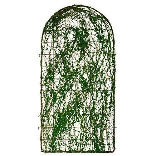 ZGYZ Plantas trepadoras de Enrejado de jardín, Panel de Pared Exterior de Hierro Forjado de Metal para Enredaderas, Rosas, Tomates y más, jardinería Vertical Decorativa