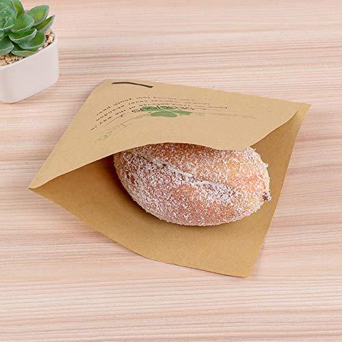 VWCDO Lot Papieren hamburger Grade Vet Papier Voedselwikkels Inpakpapier Voor Brood Sandwich Burger Fries Oliepapier Bakgereedschap, 25 stuks