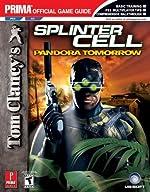Tom Clancy's Splinter Cell Pandora Tomorrow - Prima Official Game Guide de Prima Temp Authors