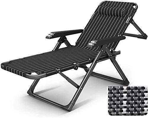N/Z Equipo Diario Sillón reclinable Sillas Plegables al Aire Libre Jardín Camping Patio Césped Sillón reclinable Playa Piscina Silla B