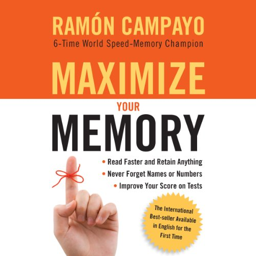 Maximize Your Memory audiobook cover art