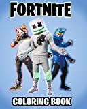 Fortnite Coloring Book: +120 Premium Coloring Pages for Kids and Adults, Gift Coloring...