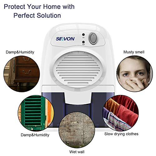 Product Image 2: SEAVON Electric Upgrade Dehumidifier for Home and RV