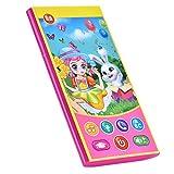 Niños Que aprenden la máquina Inglesa, Pantalla táctil Mini teléfono para bebés, Juguete electrónico, Dispositivo Educativo de Aprendizaje para 1, 2, 3 años de Edad, niños y niñas(Rosado)