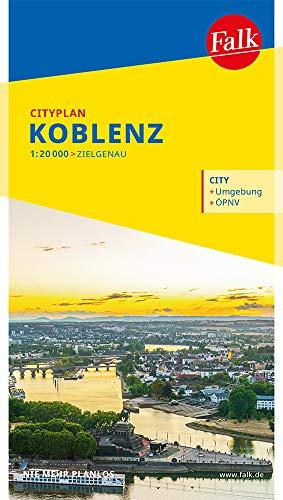 Falk Cityplan Koblenz 1:20 000 (Falk Citypläne)