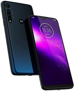 Motorola One Macro GSM - Teléfono desbloqueado, 64 GB, Azul (Space Blue)