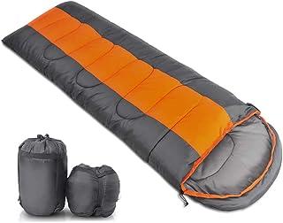 寝袋 シュラフ 封筒型 1.2kg/1.6kg 収納コンパクト アウトドア キャンプ 210T生地 防水 軽量 保温 登山 車中泊 防災用 丸洗い可能 収納パック付 四季使用可能