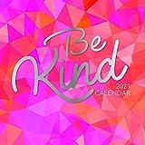 2021 calendario de pared - Ser Calendario Kind, 30 x 30 centímetros Mensual Vista, de 16 meses, estilos de vida temático, incluye 180 etiquetas en Inglés