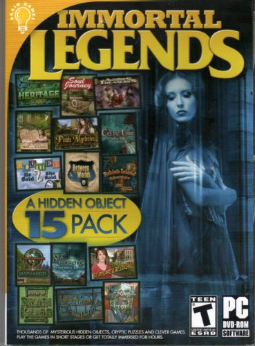 Immortal Legends  Hidden Object 15 Pack