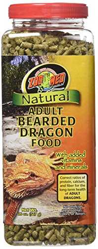 Zoo Med Natural Bearded Dragon Food Adult 567g, Futterpellets für Bartagamen