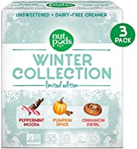 nutpods 2019 Winter Collection 3-pack, Unsweetened Dairy-Free Coffee Creamer Made From Almonds and Coconuts