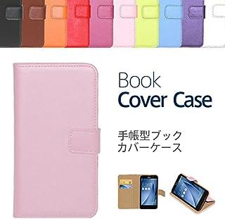 """【ケートラ】 XPERIA Z5 Compact ケース 手帳型 SO-02H ブックカバーケース""""Book Cover Case"""" 手帳型ケース カバー 手帳型 (XPERIA Z5 Compact, ライトピンク)"""