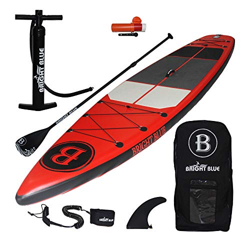 Bright Blue Fusion All Round 11'6' Inflatable Stand Up Paddle Board...